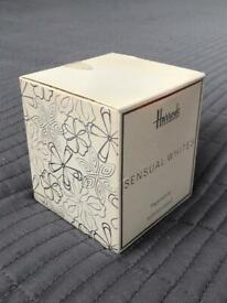 NEW luxury scented candle - Harrods Sensual Whites Paperwhite Candle