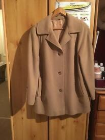 Ladies vintage cashmere and wool size 16