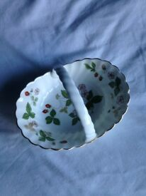 Wedgwood dish with handle. Collectible.