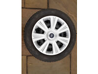 Ford steel wheel and trim for Focus, Cmax, etc