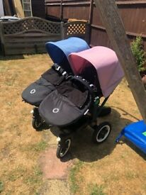 Bugaboo donkey duo black edition