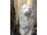 Large Lion Garden Ornament Mould & Fibreglass Jacket