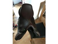 "Crosby excel 17"" horse saddle"