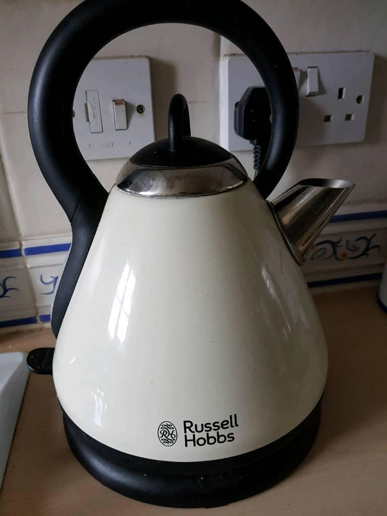 Russell Hobbs cream kettle