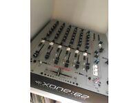 Allen&Heath Xone 62 mixer, excellent condition
