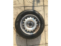 175/70 R14 wheel & New Tyre