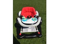 Coupe race car baby walker