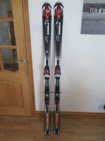 Volkl Tigershark alpine Skis 175 fitted with Marker bindings