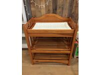 Mamas&Papas Wooden Baby Changing Unit Table Nursery Storage