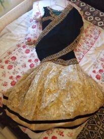 Indian Party Dress (Blouse & Lehenga) - BRAND NEW / UNUSED