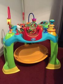 Jumperoo play activity for a baby 3-12 months old, it's been used but excellent condition
