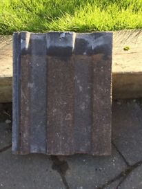 Reclaimed Redland Renown brown roof tiles approx 150
