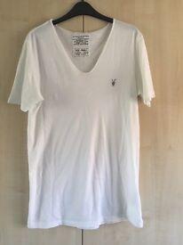 All Saints White T Shirt