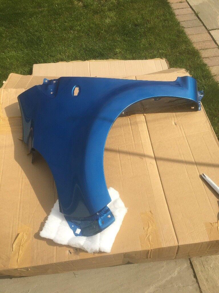 2010 Citroen C1 , Front Nearside Wing, Pre Painted in Citroen Blue, Brand New in Box