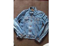 Women's vintage levi red tag denim jacket