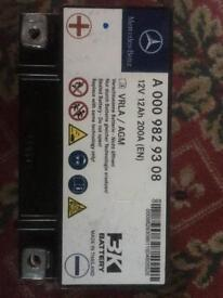 Mercedes-Benz E W212 Auxiliary Battery A0009829308 Genuine