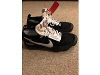Nike Off White Virgil Abloh Vapormax UK 9.5