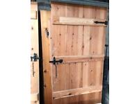 Ledge and brace cottage doors (sold as a lot or individually)