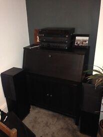 Bureau - brown/black IKEA Hemnes design- only 2 years old