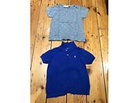Bundle of two boys tops Ralph Lauren and miniature Copenhagen