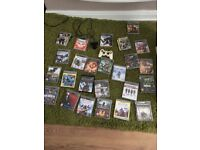 25 Ps3 Games, pad and camera