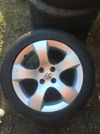 308 wheel in Excellent condition good tires