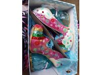 Irregular Choice size 40 Rainbunny Pink heels
