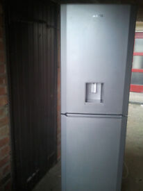SILVER FROST FREE / FRIDGE FREEZER AS NEW