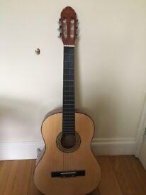 Classic guitar + case