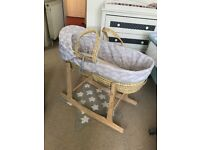 Moses Basket in great condition