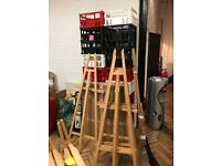 3 X Tall new artists easels - great condition, used once (NOT FOR ART!)