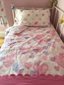 Girls next bedding set light fitting curtains and more