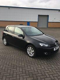 VW GOLF 1.6 TDI, BLACK, 12 Months MOT