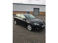 VW GOLF 1.6 TDI, BLACK, 12 Months MOT
