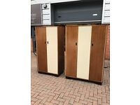 1960's Triple and double wardrobe. Offers?