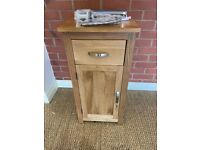 Solid Oak Vanity Unit with Tap (RRP £439) *NEW*