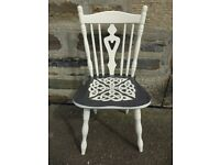 Hand Painted Custom Celtic Chair