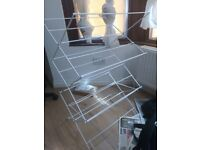 Cloth Drying stand in Good condition price £7 available immediately at ilford