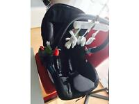 Mothercare Roam baby 0+ car seat +ISO fix base