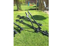 Roof rack for BMW e46 coupe and Bike carriers / rack