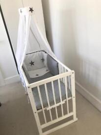New born baby cot