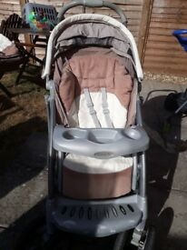 Graco pushchair & moses basket