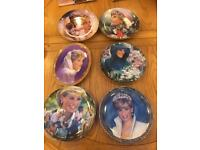 Princess Diana commemorative plate and magazine collection