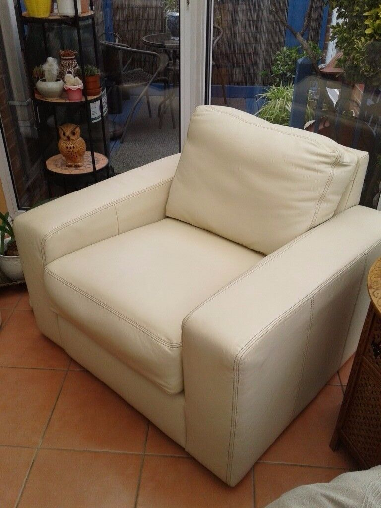 Ikea leather armchair - Ikea Sandhem Leather Armchair