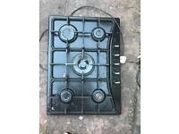 CDA gas hob, 5 burner including Wok burner