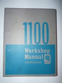 BMC 1100 WORKSHOP MANUAL