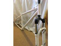 DMR Trailstar frame and rock shox Tora Fork Dirt Jump xc freeride bike