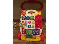 Baby walker vtech , first steps good condition collect le3