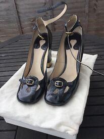 Chloe Block Heel vintage shoes