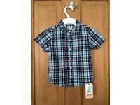 18-24 months short sleeve shirts
